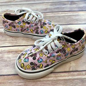 Vans: Super Mario - Princess Peach Shoes